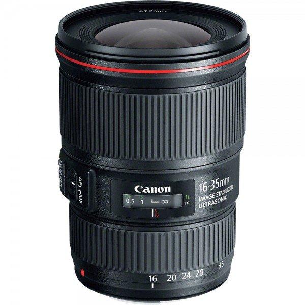 Купить Объективы, Объектив Canon EF 16-35 mm f/4L IS USM (9518B005)