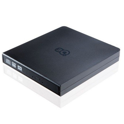 Зовнішній оптичний привід 3Q DVD ReWriter/R ± 8x/RW+8x-6x/DL ± 6x slim Black фото1