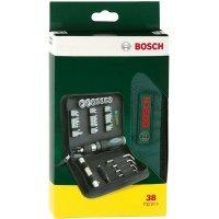 Отвертка Bosch + 38 принадлежностей