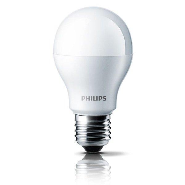 Лампа светодиодная Philips LEDBulb E27 4-40W 3000K 230V A55 (PF) от MOYO
