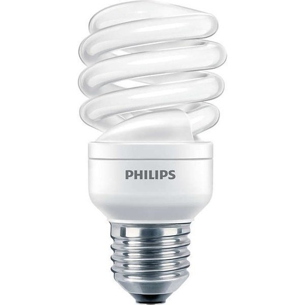 Лампа энергосберегающая Philips E27 12W 220-240V WW 1PF/6 Econ Twister фото