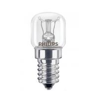 Лампа накаливания Philips App E14 15W 230-240V T22 CL OV 1CT