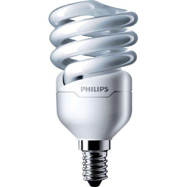 Лампа энергосберегающая Philips E14 12W 220-240V CDL 1PF/6 Econ Twister фото