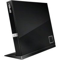 Зовнішній оптичний привід ASUS SBC-06D2X-U Blu-ray Combo Drive USB2.0 EXT Ret Slim Black