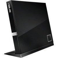 Внешний оптический привод ASUS SBC-06D2X-U Blu-ray Combo Drive USB2.0 EXT Ret Slim Black