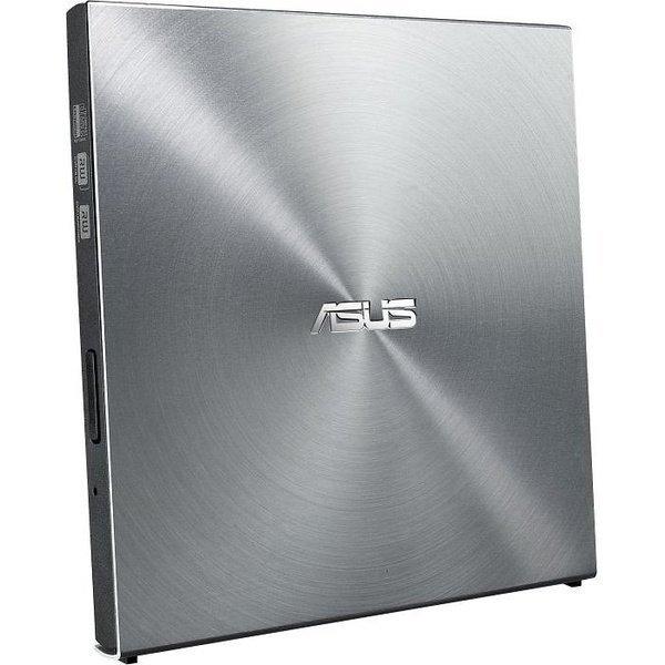 Зовнішній оптичний привід ASUS SDRW-08U5S-U DVD+-R/RW USB2.0 EXT Ret Ultra Slim Silver фото1