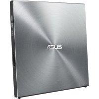 Внешний оптический привод ASUS SDRW-08U5S-U DVD+-R/RW USB2.0 EXT Ret Ultra Slim Silver