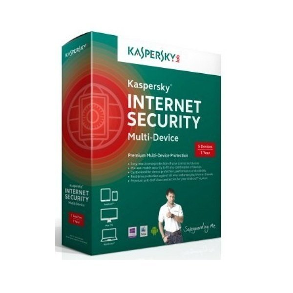 Антивирус Kaspersky Internet Security 2015 5 Desktop Обновление BOX фото
