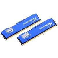 Пам'ять для ПК HyperX Fury DDR3 1866MHz 8Gb Blue (HX318C10FK2/8)