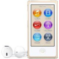 MP3 плеер APPLE iPod nano 16GB Gold (new) - 2015