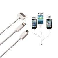 Кабель синхронизации МС EasyLink Набір 3 в 1 до iPhone4/iPad2/HTC