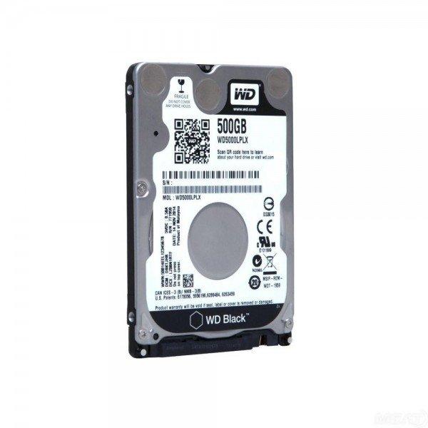 Купить Жесткий диск внутренний WD 2.5 SATA 3.0 0.5TB 7200rpm 32Mb Cache Black 7mm (WD5000LPLX)