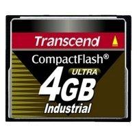 Карта памяти TRANSCEND CF 4GB Industrial 100X (TS4GCF100I)