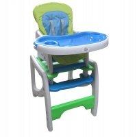 Стульчик для кормления Miracolo HC-30H Blue-green (9422)