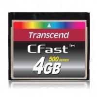 Карта памяти TRANSCEND CFast 4GB 500X (TS4GCFX500)