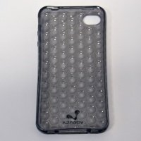Чехол к iPhone 4G VOORCA Bead case черный