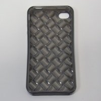 Чехол к iPhone 4G VOORCA Crystal case черный