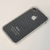 Чехол к iPhone 4G VOORCA Jelly case белый