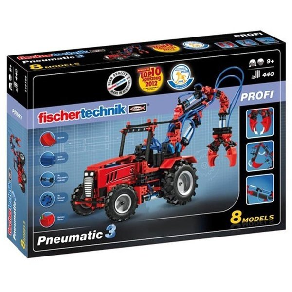 Конструктор fischertechnik PROFI ПНЕВМАТИКА (FT-516185)