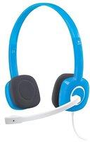 Компьютерная гарнитура Logitech H150 Stereo Headset Blueberry (981-000368)