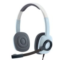 Компьютерная гарнитура Logitech H250 Stereo Headset Ice Blue (981-000377)