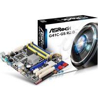 Материнська плата ASROCK G41C-GS R2.0 (G41C-GSR2.0)