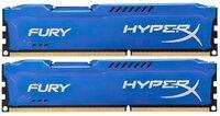 Память для ПК HyperX Fury DDR3 1600MHz 16Gb Blue (HX316C10FK2/16)