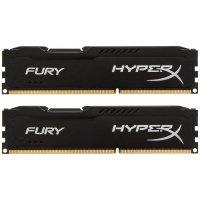 Память для ПК HyperX Fury DDR3 1600MHz 8Gb Black (HX316C10FBK2/8)