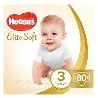 Подгузники Huggies ELITE SOFT 3 Mega 80 шт (5029053546315)