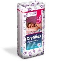 Подгузники-трусики Huggies DRYNITES 8-15 лет для девочек 9 шт (5029053527604)