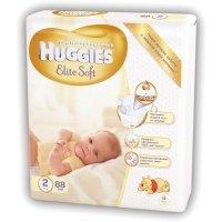 Подгузники Huggies ELITE SOFT 2 Mega 88 шт (5029053533810)