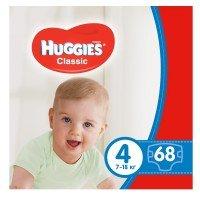 Подгузники Huggies CLASSIC 4 Mega 68 шт (5029053543154)