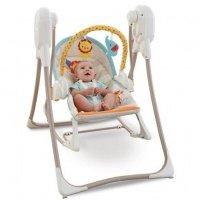 Массажное кресло-качалка Fisher-Price Делюкс 3 в 1 (BFH07)