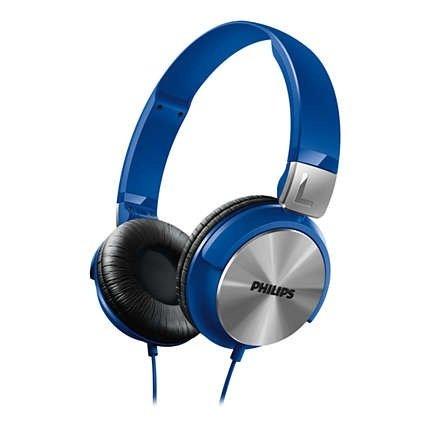 Наушники Philips SHL3160BL Blue фото 1
