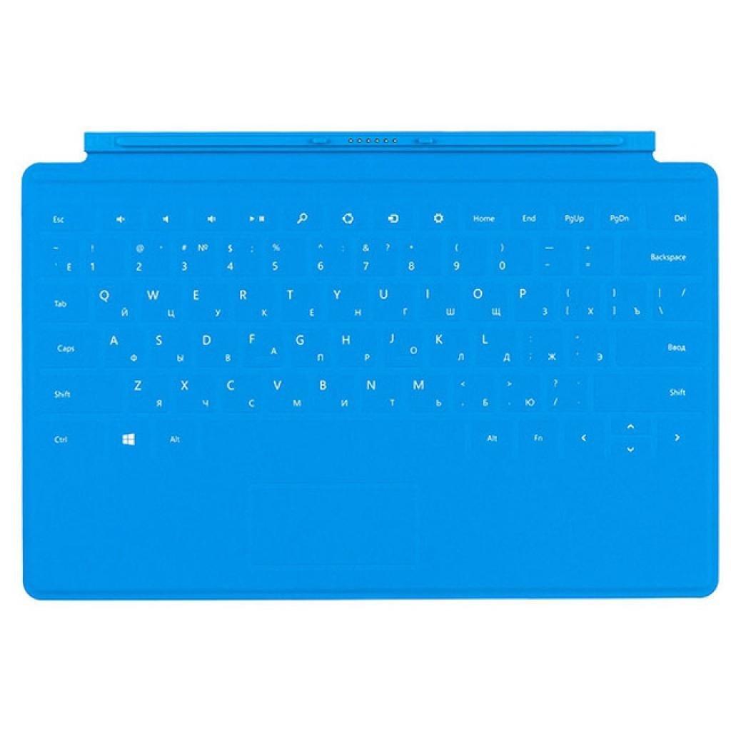 Клавіатура Microsoft Touch Cover для планшета Surface, (Blue) фото1
