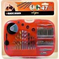 Набор бит Black&Decker 47 предметов в футляре