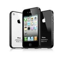 Чехол SGP для iPhone 4 Case Linear EX Color Series Soul Black