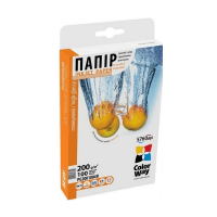 Бумага ColorWay глянц. 200г/м, 10x15 PG200-100 карт.уп. (PG2001004R)