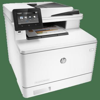 Купить МФУ лазерное HP Color LJ Pro M477fdw c Wi-Fi