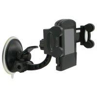 Автодержатель Kit для смартфонов Universal, Black/Green