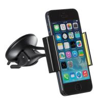 Автодержатель Kit для смартфонов Premium Mini Universal, Black/Green