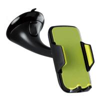 Автодержатель Kit для смартфонов Premium Universal, Black/Green