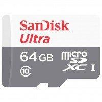 Карта памяти Sandisk microSDXC 64GB Class 10 UHS-I Ultra R48MB/s