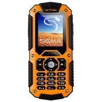 Мобильный телефон Sigma Х-treme IT67 Orange