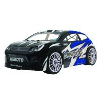 Автомобиль 1:18 на р/у Himoto DriftX E18DT Brushed синий (E18DTb)