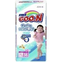 Подгузники-трусики GOO.N для девочек Big XL (12-20 кг) 38 шт (753715)