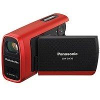 Видеокамера PANASONIC SDR-SW20 Red + SD 2GB