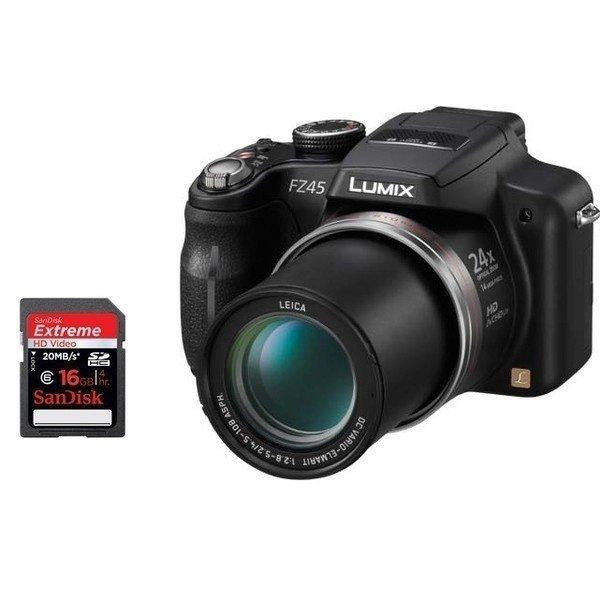 Фотокамера цифровая PANASONIC Lumix FZ45