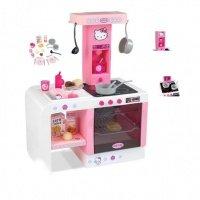 Интерактивная кухня Smoby Hello Kitty Cheftronic (24195)