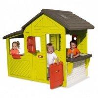 Садовый домик Smoby с кухней-барбекю (310300)